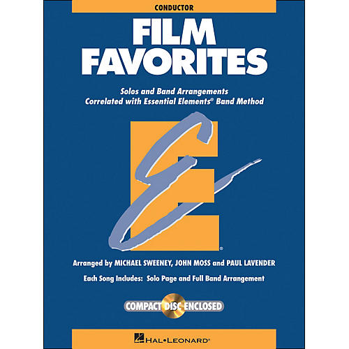 Hal Leonard Film Favorites Conductor Book/CD