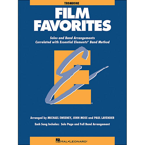 Hal Leonard Film Favorites Trombone