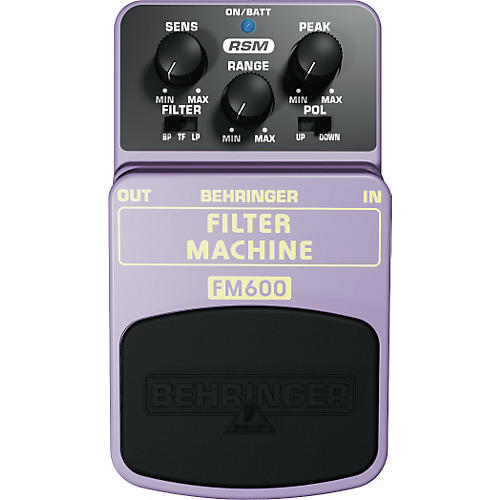 Behringer Filter Machine FM600 Guitar Pedal