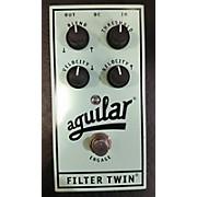 Aguilar Filter Twin Dual Envelope Filter Bass Effect Pedal
