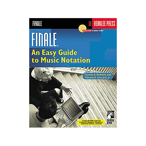 Berklee Press Finale - Easy Guide to Music Notation (Book/CD)