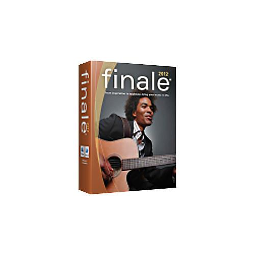 Finale Finale 2012 Site License per seat  (Minimum 5 through 29)