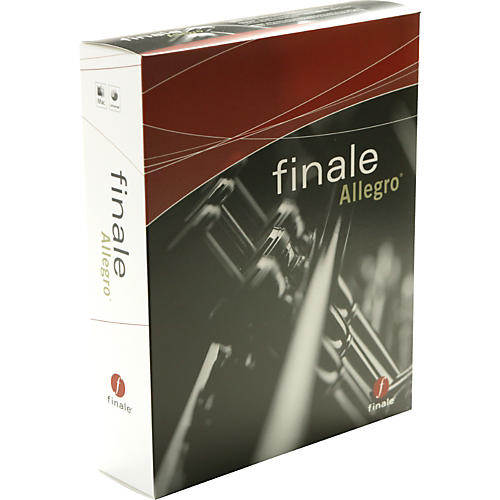 Finale Finale Allegro 2007 5-User Lab Pack Notation Software-thumbnail