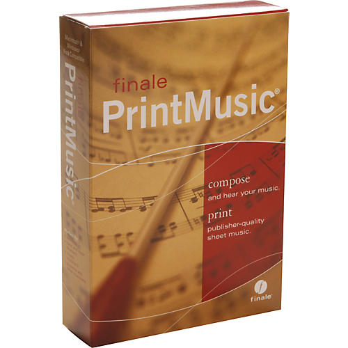 Finale Finale PrintMusic 2008 5-User Lab Pack Notation Software