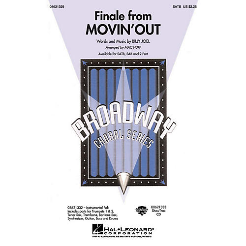 Hal Leonard Finale from Movin' Out SATB arranged by Mac Huff