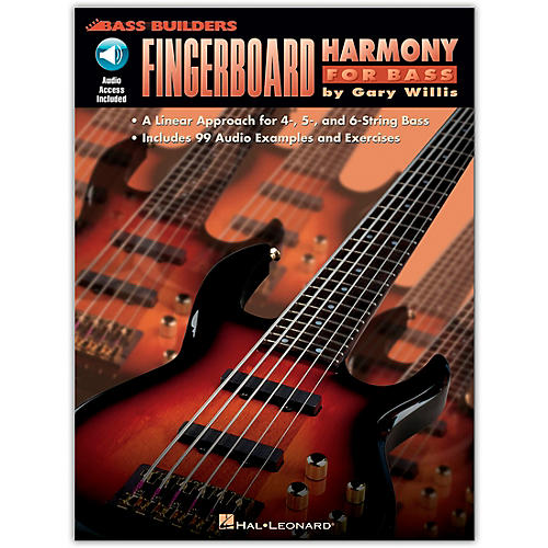 Hal Leonard Fingerboard Harmony for Bass (Book/Online Audio)-thumbnail