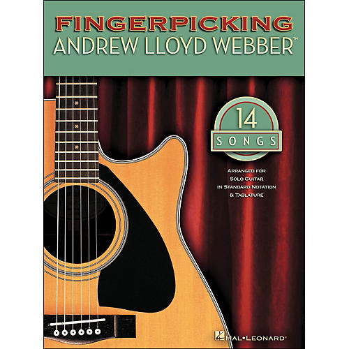 Hal Leonard Fingerpicking Andrew Lloyd Webber 14 Songs-thumbnail