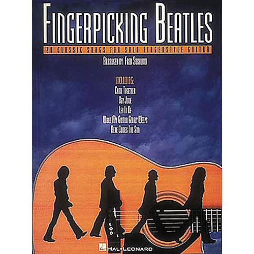 Hal Leonard Fingerpicking Beatles Guitar Tab Book-thumbnail