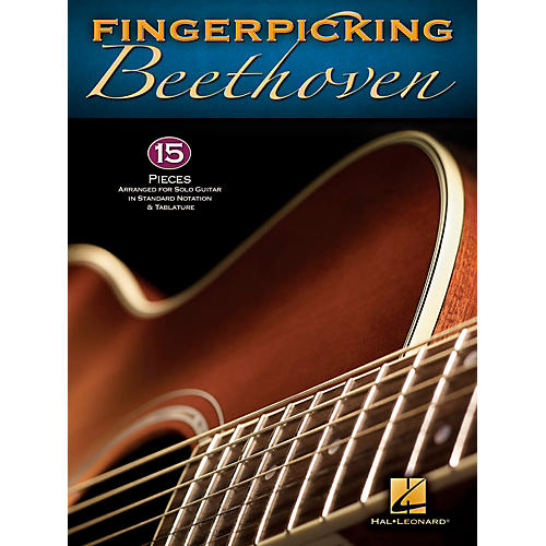 Hal Leonard Fingerpicking Beethoven for Solo Guitar - Standard Notation & Tab
