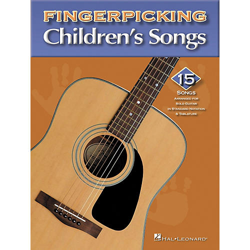Hal Leonard Fingerpicking Children's Songs-thumbnail