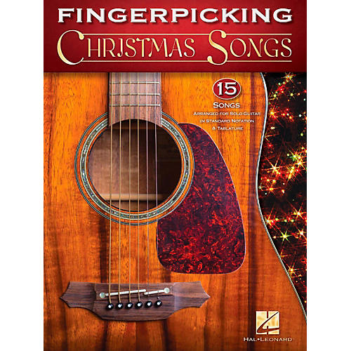 Hal Leonard Fingerpicking Christmas Songs - 15 Songs for Solo Guitar In Standard Notation & Tab