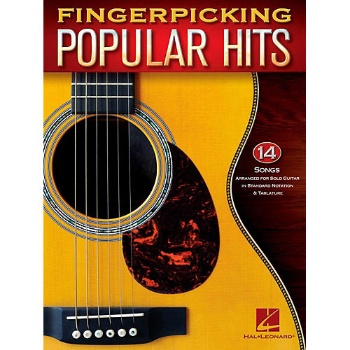 Hal Leonard Fingerpicking Popular Hits - 15 Songs Arr. For Solo Guitar in Standard Notation & Tab