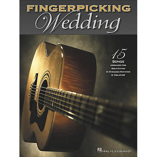 Hal Leonard Fingerpicking Wedding Solo Guitar Tab Book-thumbnail