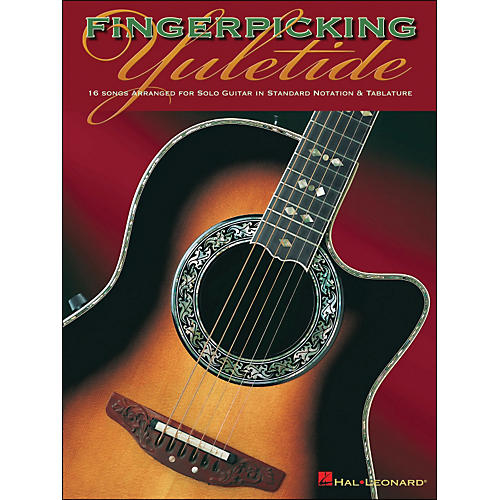Hal Leonard Fingerpicking Yuletide Solo Guitar-thumbnail
