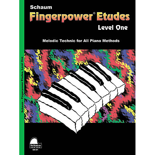 SCHAUM Fingerpower« Etudes Lev1 Educational Piano Series Softcover