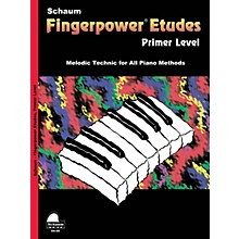 SCHAUM Fingerpower« Etudes Primer Educational Piano Series Softcover
