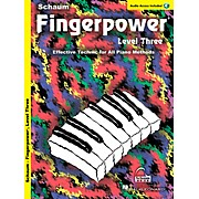 SCHAUM Fingerpower® (Level 3 Book/CD Pack) Educational Piano Series Softcover with CD Written by John W. Schaum