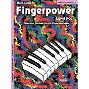 SCHAUM Fingerpower® (Level 4 Book/CD Pack) Educational Piano Series Softcover with CD Written by John W. Schaum