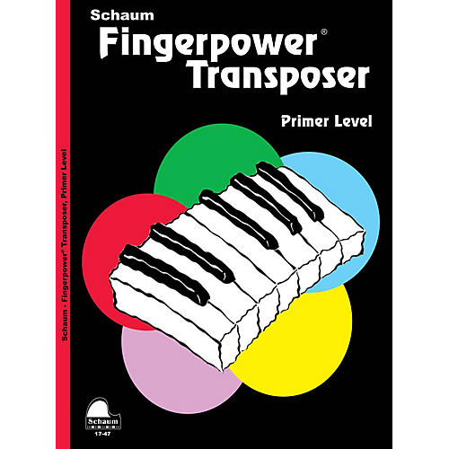 SCHAUM Fingerpower® Transposer Educational Piano Book by Wesley Schaum (Level Early Elem)