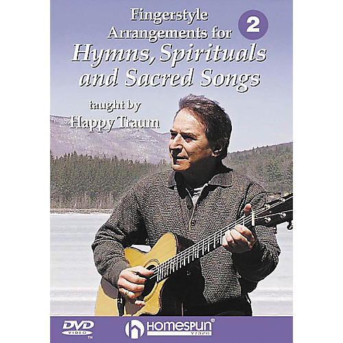Homespun Fingerstyle Arrangements for Hymns, Spirituals and Sacred Songs 2 (DVD)-thumbnail