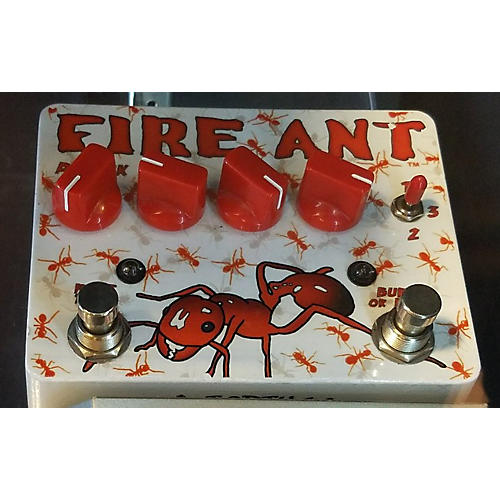 Tortuga Fire Ant Overdrive Effect Pedal-thumbnail
