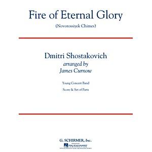 G. Schirmer Fire of Eternal Glory Novorossiyek Chimes Concert Band Level ... by G. Schirmer
