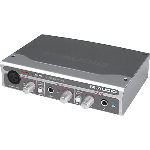 M-Audio FireWire Solo Mobile Audio Interface