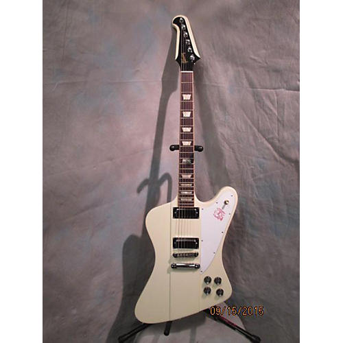 Gibson Firebird Alpine White Solid Body Electric Guitar-thumbnail