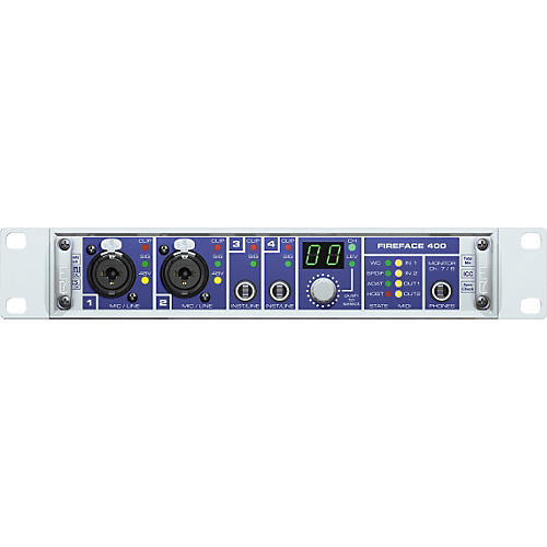 RME Fireface 400 FireWire Audio Interface