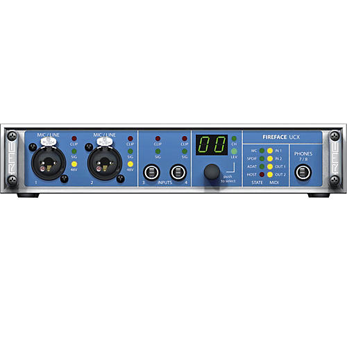 RME Fireface UCX 36-Channel USB 2.0 Audio Interface-thumbnail