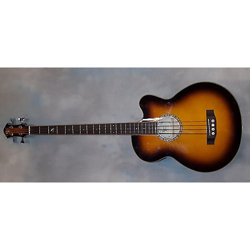 Michael Kelly Firefly Acoustic Bass Guitar-thumbnail