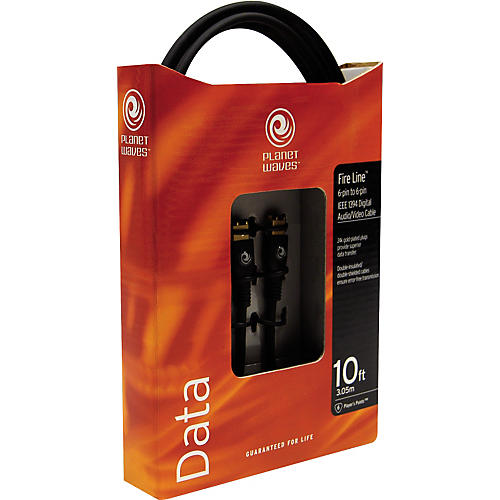 D'Addario Planet Waves Fireline IEEE 1394 FireWire Cable