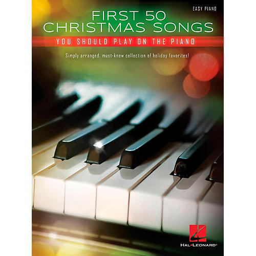 Hal Leonard First 50 Christmas Songs You Should Play on the Piano-thumbnail