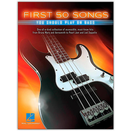 Hal Leonard First 50 Songs You Should Play on Bass-thumbnail