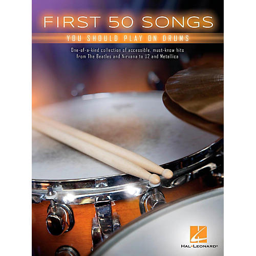 Hal Leonard First 50 Songs You Should Play on Drums-thumbnail