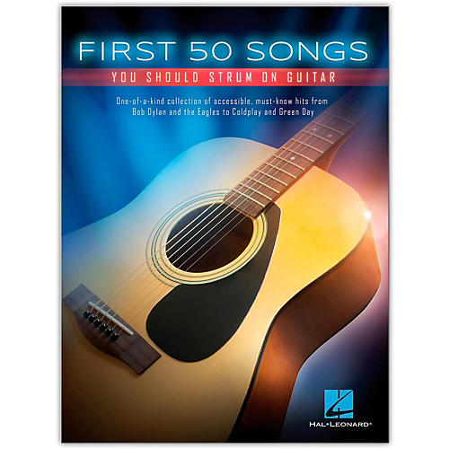 Hal Leonard First 50 Songs You Should Strum on Guitar-thumbnail
