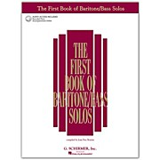 G. Schirmer First Book Of Baritone  /Bass Solos Book/2CD Package