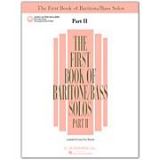 G. Schirmer First Book Of Baritone / Bass Solos Part 2 Book/2CD's
