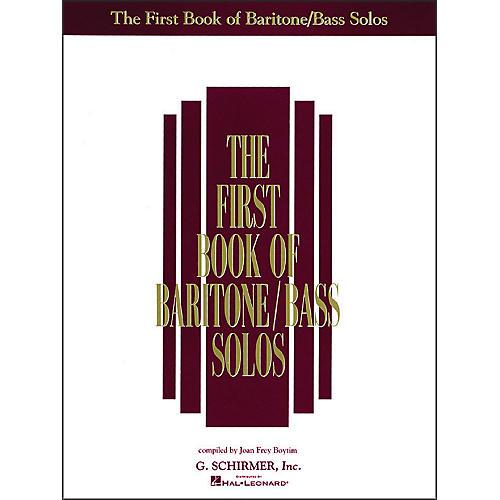 G. Schirmer First Book Of Baritone / Bass Solos-thumbnail