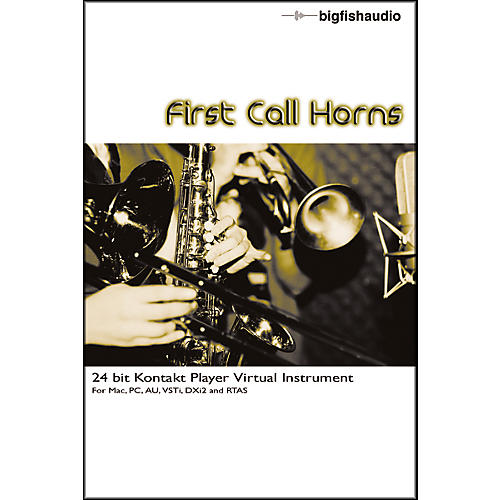 Big Fish First Call Horns Sample Library-thumbnail