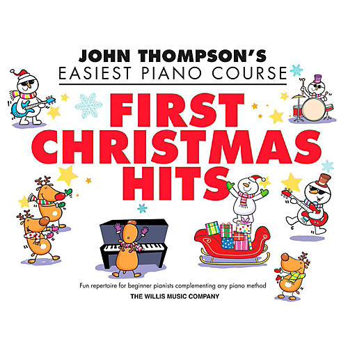 Hal Leonard First Christmas Hits - Thompson's Easiest Piano Course (Early To Mid-Elementary)-thumbnail