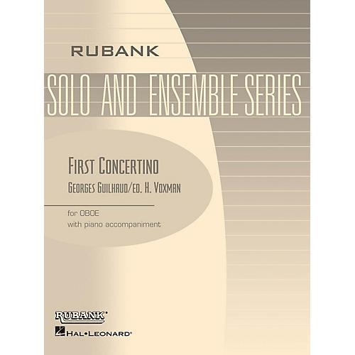 Rubank Publications First Concertino (Oboe Solo with Piano - Grade 4.5) Rubank Solo/Ensemble Sheet Series