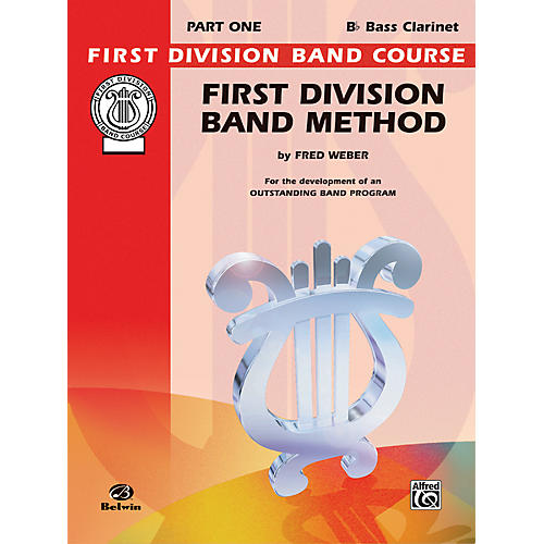 Alfred First Division Band Method Part 1 B-Flat Bass Clarinet-thumbnail