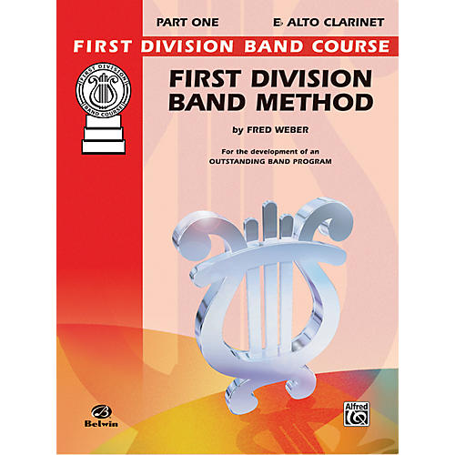 Alfred First Division Band Method Part 1 B-Flat Clarinet