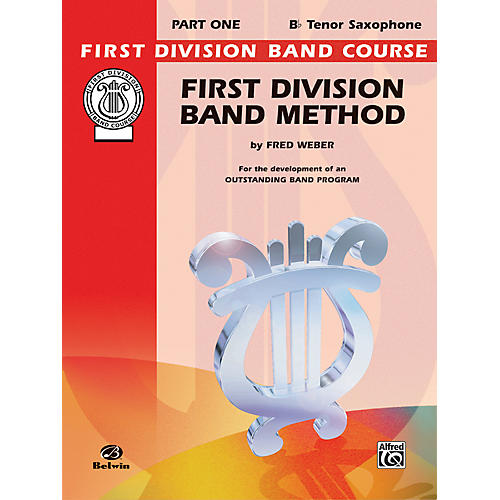 Alfred First Division Band Method Part 1 B-Flat Tenor Saxophone-thumbnail