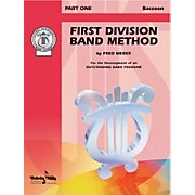 Alfred First Division Band Method Part 1 Bassoon