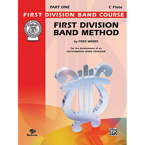 Alfred First Division Band Method Part 1 C Flute-thumbnail