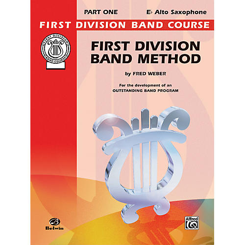 Alfred First Division Band Method Part 1 E-Flat Alto Saxophone-thumbnail