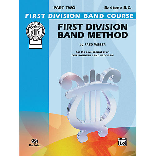 Alfred First Division Band Method Part 2 Baritone (B.C.)