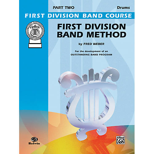 Alfred First Division Band Method Part 2 Drums-thumbnail